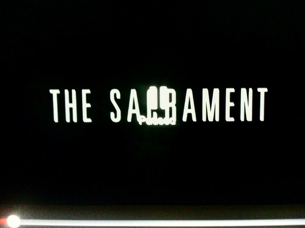 The Sacrament Paused