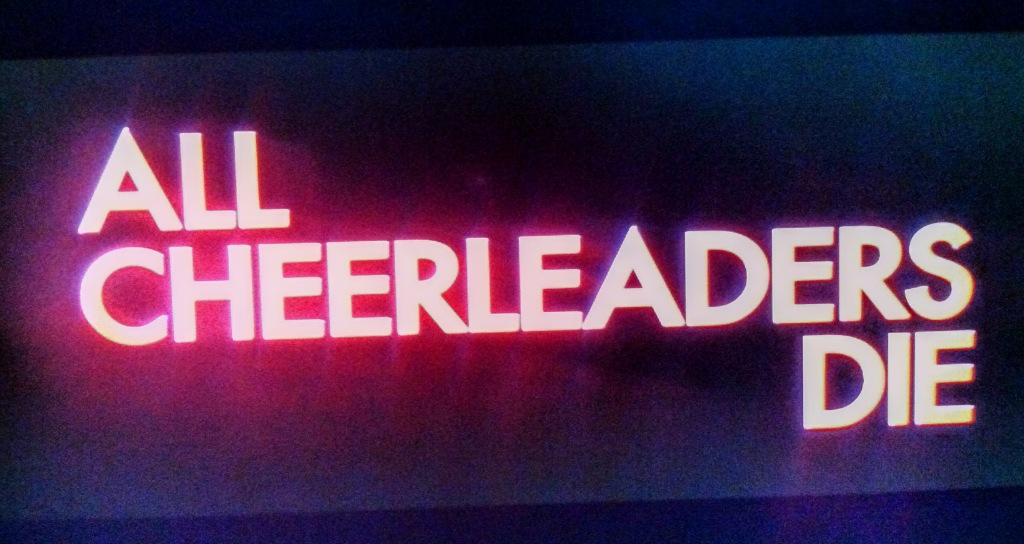 All Cheerleaders Die Title Card